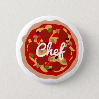 Bóton Redondo 5.08cm Do botão redondo do pinback do cozinheiro chefe da