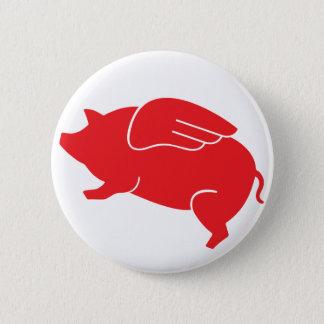 Bóton Redondo 5.08cm 🐷 do porco do vôo