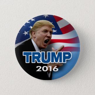 Bóton Redondo 5.08cm Donald Trump 2016