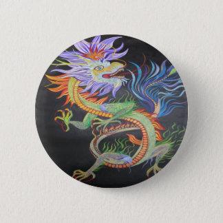 Bóton Redondo 5.08cm Dragão chinês