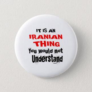 BÓTON REDONDO 5.08CM É DESIGN IRANIANO DA COISA
