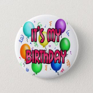Bóton Redondo 5.08cm É meus balões legal da festa de aniversário