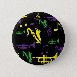Bóton Redondo 5.08cm É tão jazzístico