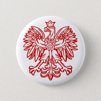 Bóton Redondo 5.08cm Eagle polonês