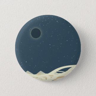 """Bóton Redondo 5.08cm Eclipse da arte de Sun com os """"cobras """""""
