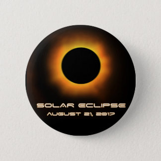 Bóton Redondo 5.08cm Eclipse solar
