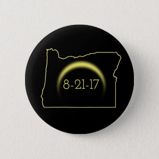 Bóton Redondo 5.08cm Eclipse solar total Oregon 2017