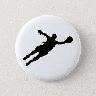 Bóton Redondo 5.08cm Economias do Goalie (da fêmea)