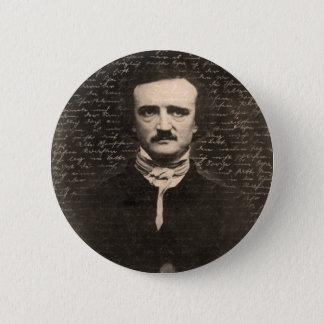 Bóton Redondo 5.08cm Edgar Allan Poe