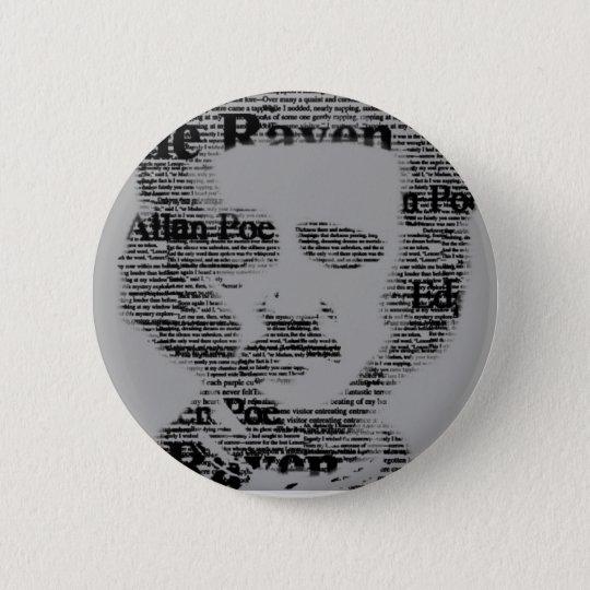 Bóton Redondo 5.08cm Edgar Allan Poe Bottom