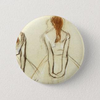 Bóton Redondo 5.08cm Edgar Degas: Estudo para o dançarino pequeno