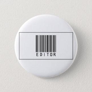 Bóton Redondo 5.08cm Editor do código de barras