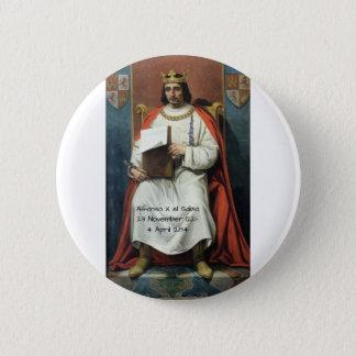 Bóton Redondo 5.08cm EL Sabio de Alfonso x