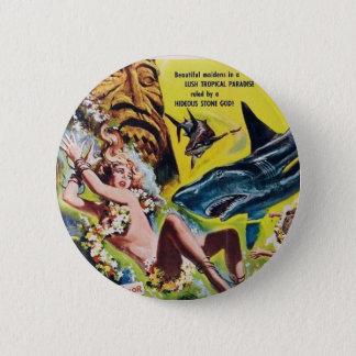 Bóton Redondo 5.08cm Ela deuses do botão 2 do filme de Reff do tubarão