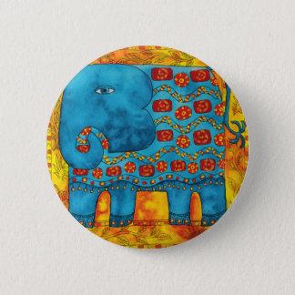 Bóton Redondo 5.08cm Elefante modelado