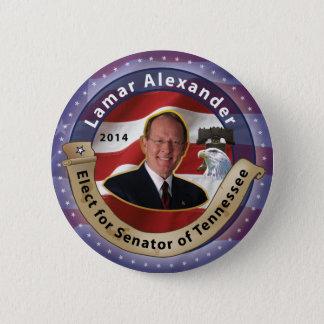 Bóton Redondo 5.08cm Eleja Lamar Alexander para o senador de Tennessee