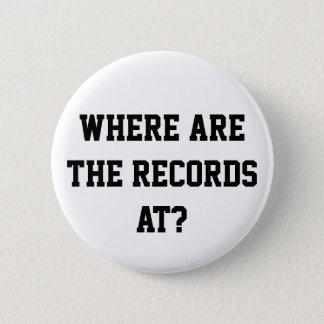 Bóton Redondo 5.08cm Em onde estão os registros? Pin