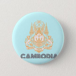 Bóton Redondo 5.08cm Emblema cambojano