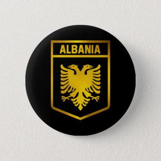 Bóton Redondo 5.08cm Emblema de Albânia