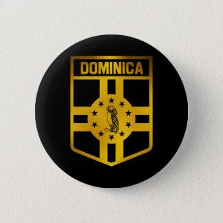Bóton Redondo 5.08cm Emblema de Dominica