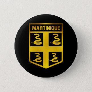 Bóton Redondo 5.08cm Emblema de Martinica