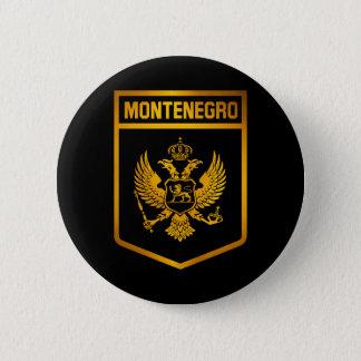 Bóton Redondo 5.08cm Emblema de Montenegro