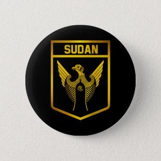 Bóton Redondo 5.08cm Emblema de Sudão