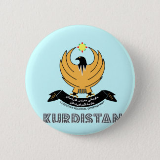 Bóton Redondo 5.08cm emblema do kurd