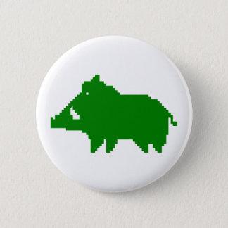 Bóton Redondo 5.08cm Emblema - Javali um ARDOR de ADIANTAMENTO
