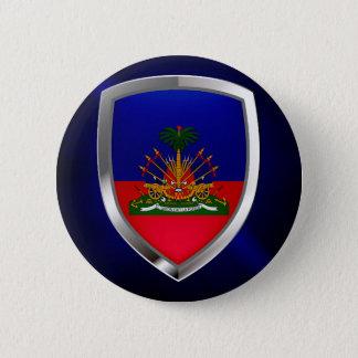 Bóton Redondo 5.08cm Emblema metálico de Haiti