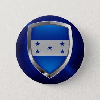 Bóton Redondo 5.08cm Emblema metálico de Honduras
