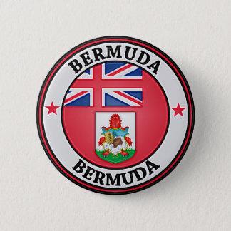 Bóton Redondo 5.08cm Emblema redondo de Bermuda