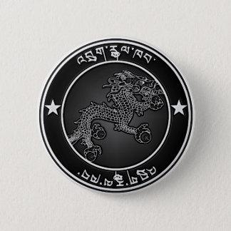 Bóton Redondo 5.08cm Emblema redondo de Bhutan