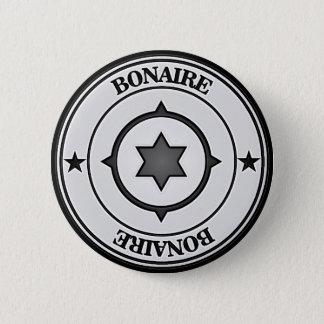 Bóton Redondo 5.08cm Emblema redondo de Bonaire