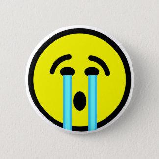 Bóton Redondo 5.08cm emoticon do grito do grito do grito