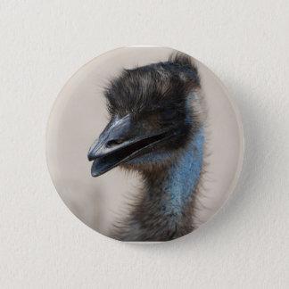 Bóton Redondo 5.08cm Emu azul