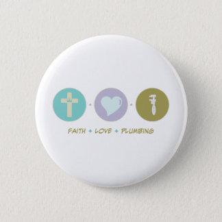 Bóton Redondo 5.08cm Encanamento do amor da fé