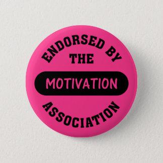 Bóton Redondo 5.08cm Endosso da associação da motivação