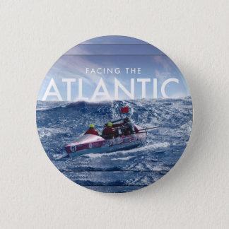 Bóton Redondo 5.08cm Enfrentando o Atlântico - botão redondo