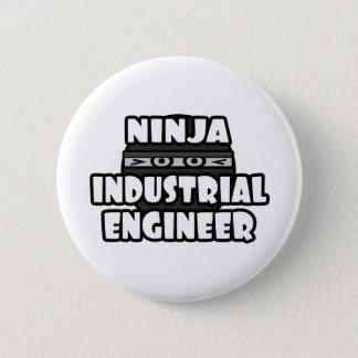 Bóton Redondo 5.08cm Engenheiro industrial de Ninja
