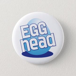 Bóton Redondo 5.08cm engraçado calvo da páscoa principal do ovo