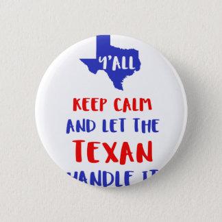 Bóton Redondo 5.08cm Engraçado você camisetas da menina de Texas