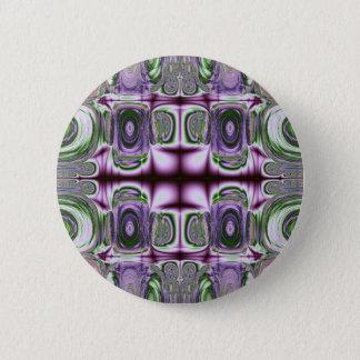 Bóton Redondo 5.08cm Equilíbrio do botão dos quadrados