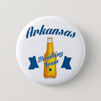 Bóton Redondo 5.08cm Equipe do bebendo de Arkansas