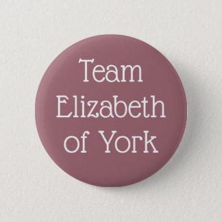 Bóton Redondo 5.08cm Equipe Elizabeth de York