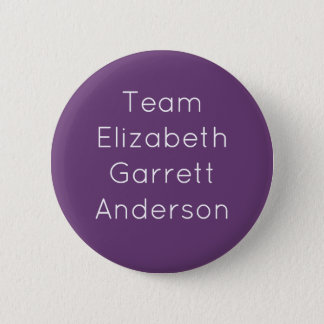 Bóton Redondo 5.08cm Equipe Elizabeth Garrett Anderson