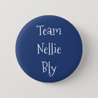 Bóton Redondo 5.08cm Equipe Nellie Bly