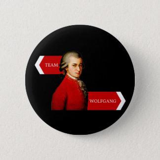 Bóton Redondo 5.08cm Equipe Wolfgang. Fã de Wolfgang Amadeus Mozart