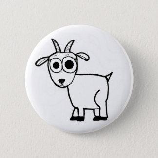 Bóton Redondo 5.08cm Esboço da cabra