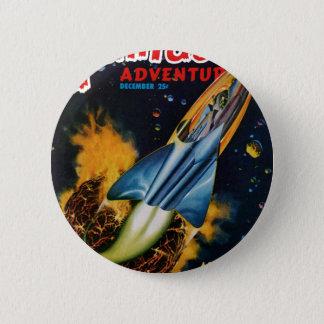 Bóton Redondo 5.08cm Escape do planeta de explosão
